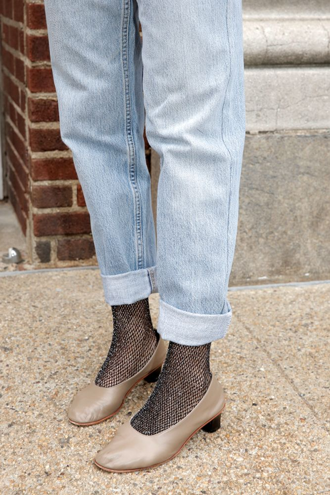 How to Style Sparkly Tights - Man Repeller