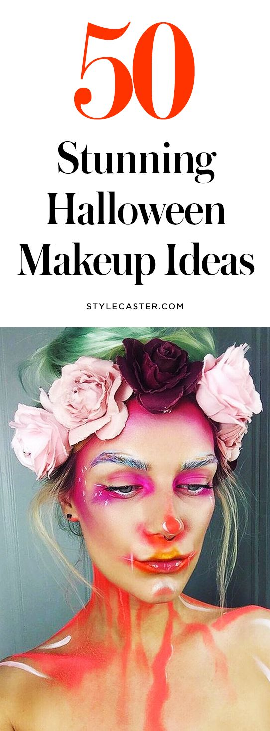 50 pretty Halloween makeup ideas | @stylecaster | StyleCaster