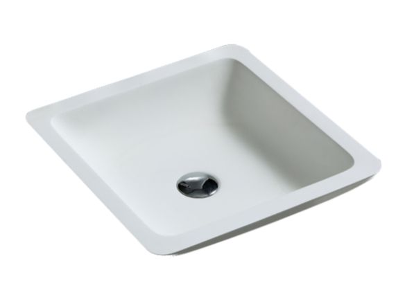 17-inch contemporary polymarble vessel sink - Vessel basins - Basins and vessel…