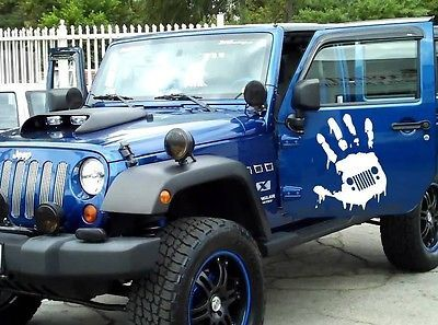 Details About 2 Decal Sticker Kit For Jeep Wrangler Skull