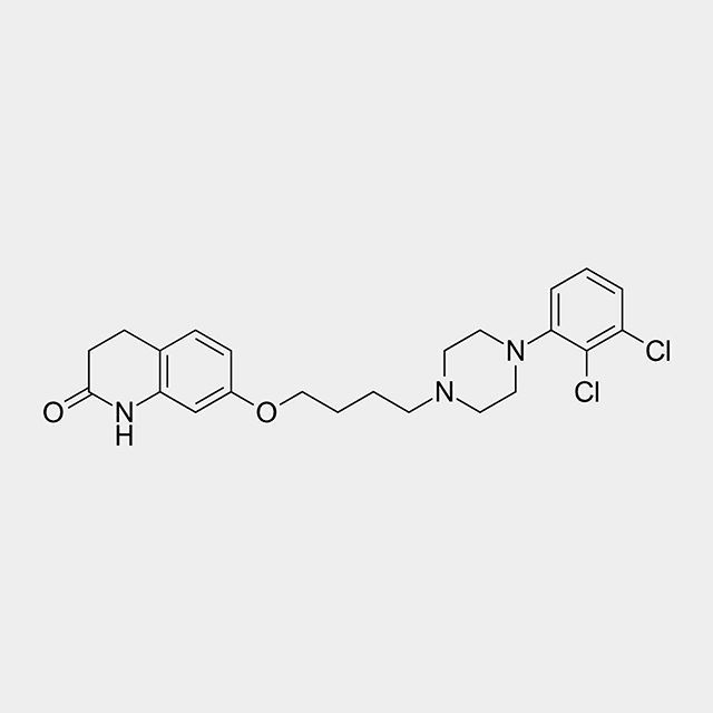 #Aripiprazole sold under the brand name #Abilify among others is an atypical #antipsychotic. It is recommended and primarily used in the treatment of #schizophrenia and #bipolar disorder.  From: http://ift.tt/2pbHdFk  Suggested by @rodrigo_don - he wanted to know about the #stereochemistry of this molecule. Its very easy theres no #chirality so no stereochemistry :) #orgo #organicchemistry #chemistry #moleculeoftheday #staynerdy #science #molecule #molecules #beautifulchemistry #chemist