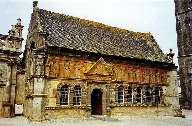 France - Bretagne - Finistère - Ossuaire de Sizun