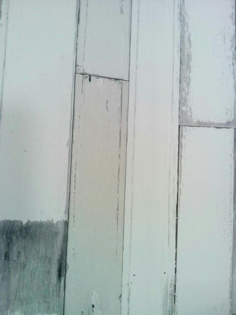 Behang, sloophout