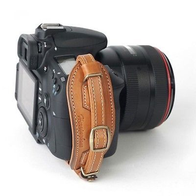 Herringbone Heritage Leather Hand Grip Strap Camel Brown Type 2 for DSLR Camera | eBay