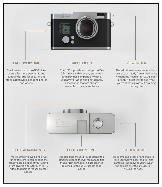Exo GP-1 GoPro Housing – Make Your GoPro Go Further by Chris Day — Kickstarter