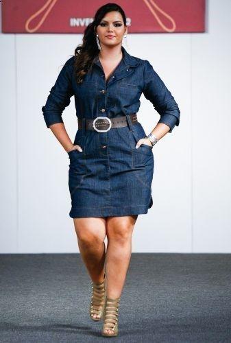 Fashion World: plus size blue dress