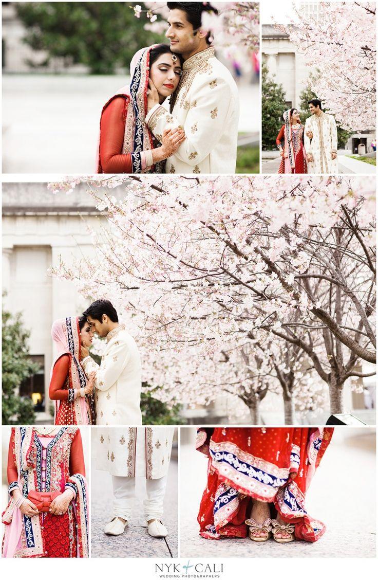 Nyk + Cali, Wedding Photographers | Nashville, TN | South Asian Wedding Photography | Pakistani | Shaadi | Celebration | Downtown Hilton Hotel | Hindu Ceremony | Red & Pink | Bride + Groom