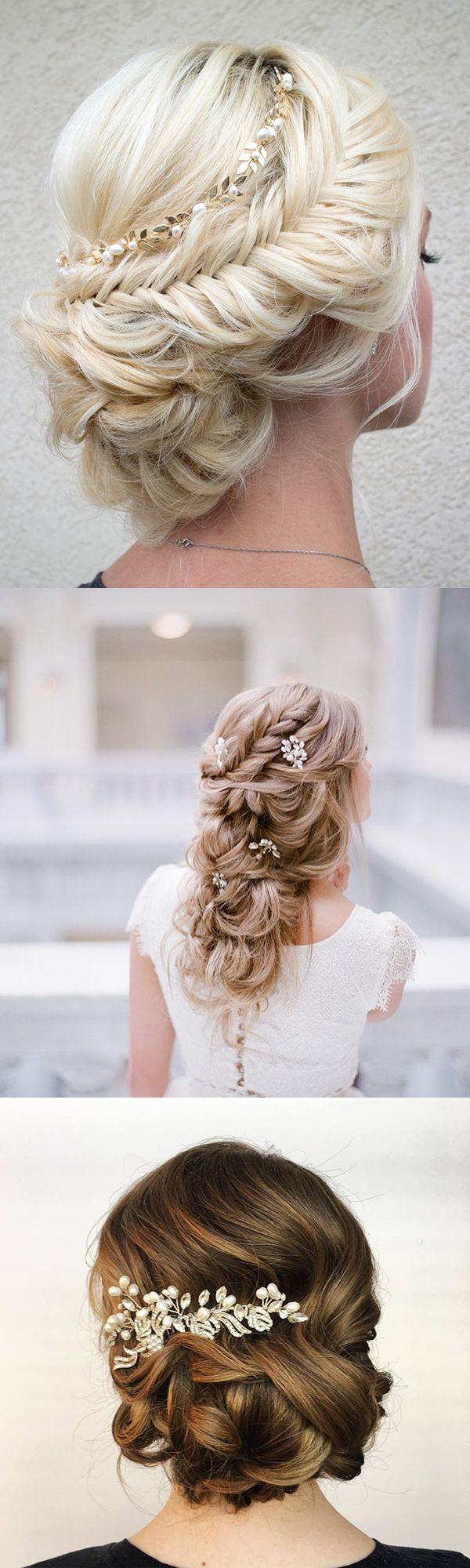 pretty wedding hair accessory