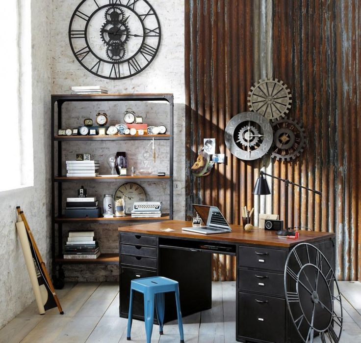 decor fascinating examples of steampunk interior design ideas