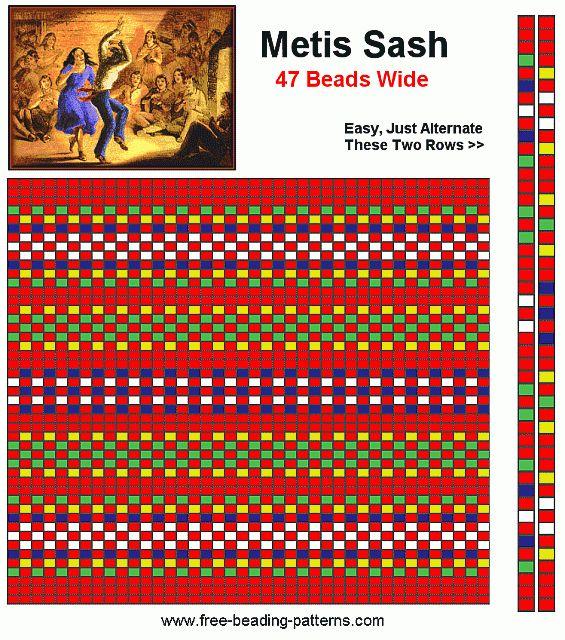 bead-loom-pattern-metis-sash-plain