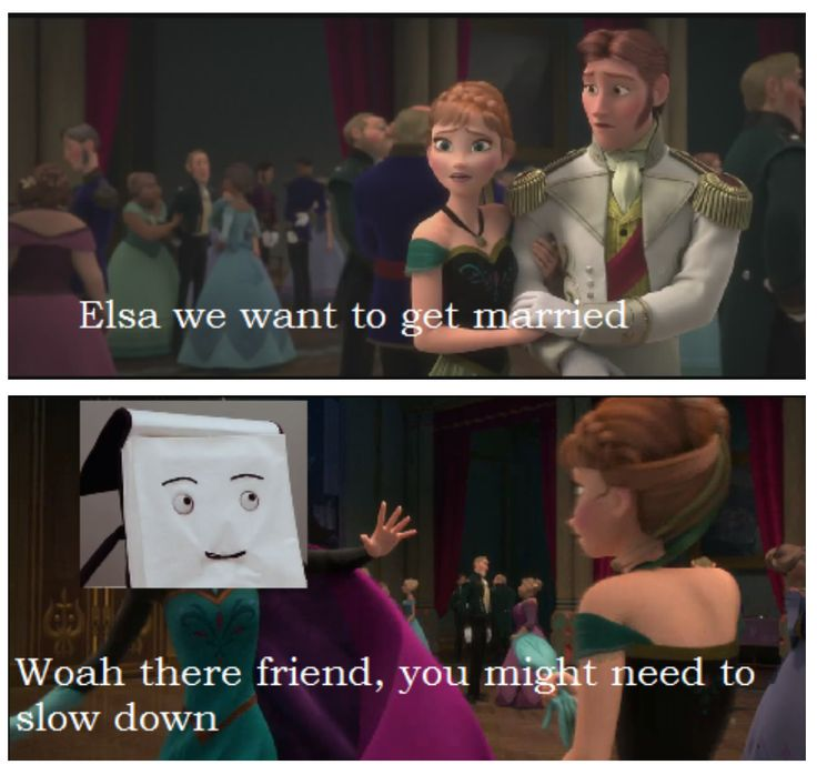 'Don't Hug Me I'm Scared' meets 'Frozen'