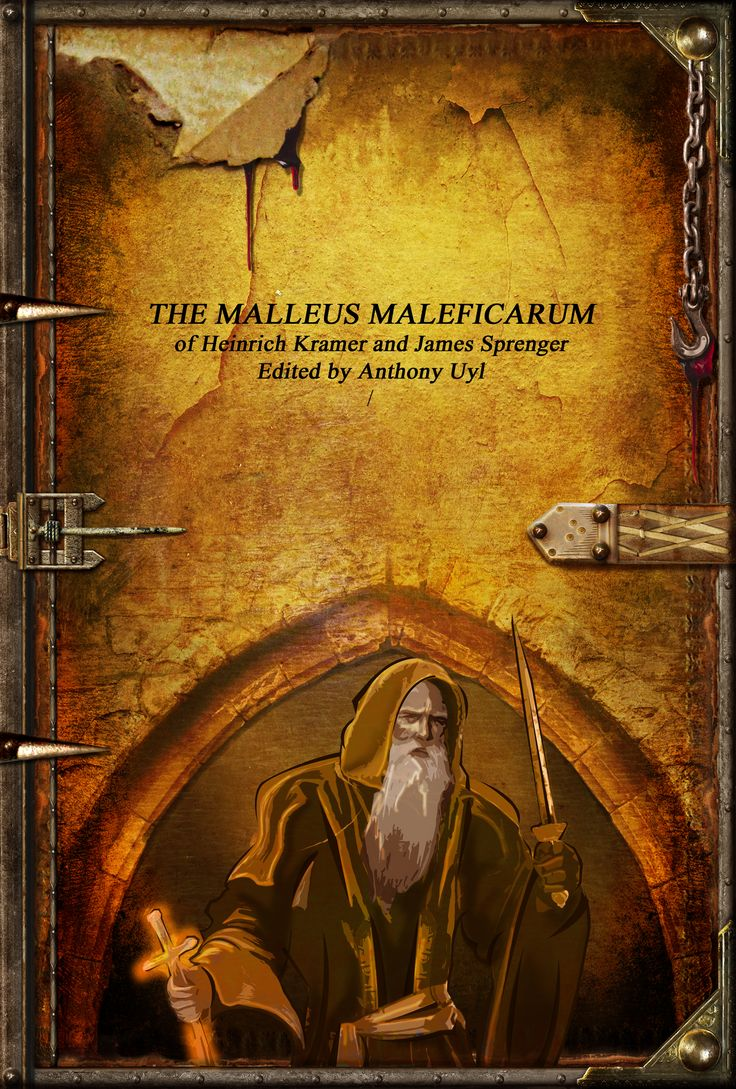 The classic Malleus Maleficarum in Hardcover with detailed print interior and covers!