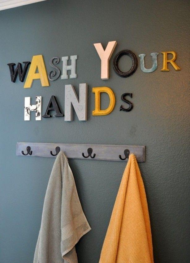 Leuk voor de badkamer!