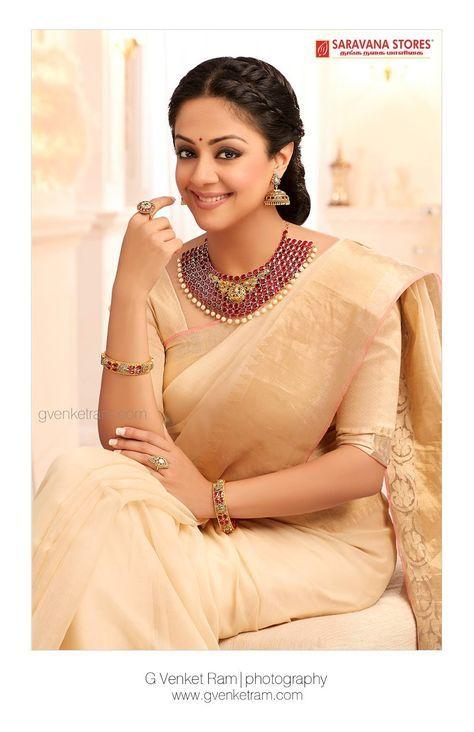 Jyothika Traditional Attire New Photoshoot