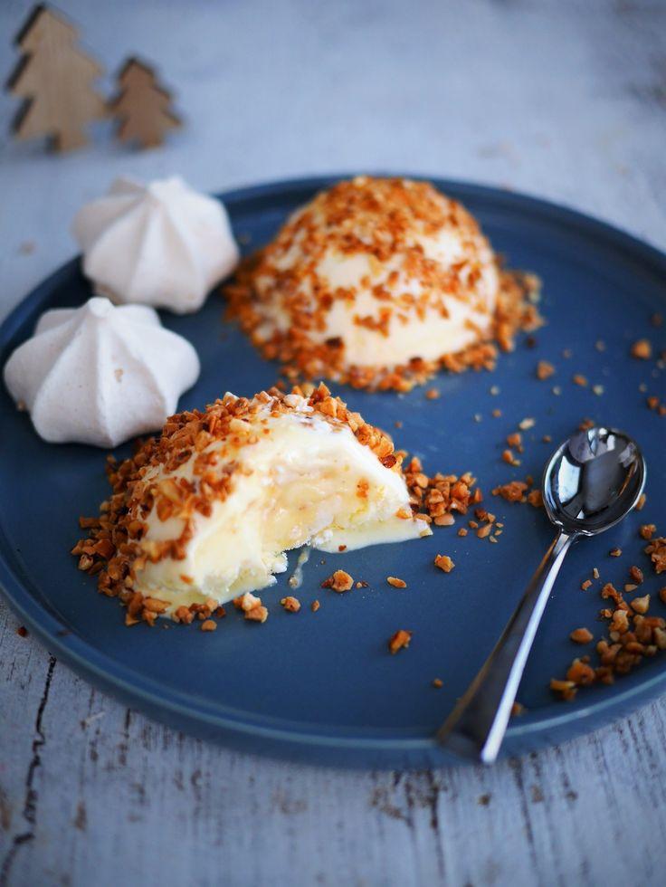 Un dessert glacé facile et rapide à faire pour les tables de fêtes ou les desserts de tous les jours, grâce à une recette tupperware pour les moules dômes.