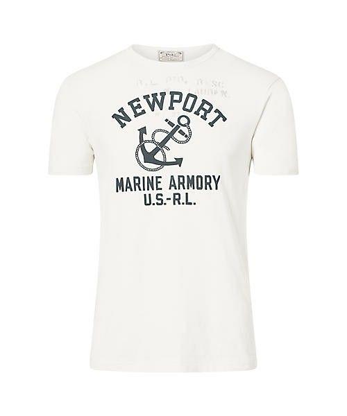 POLO RALPH LAUREN(ポロラルフローレン)の「カスタム フィット コットン Tシャツ(Tシャツ/カットソー)」|ホワイト