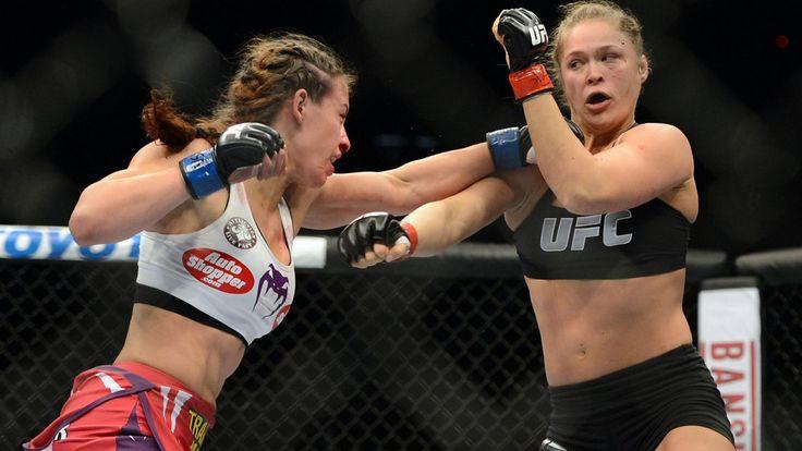 Miesha Tate Chokes Holly Holm, Flabbergasts Ronda Rousey...: Miesha Tate Chokes Holly Holm, Flabbergasts Ronda Rousey… #RondaRousey