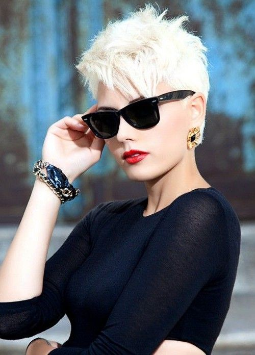 Trendy Long Pixie Cut Style 2016