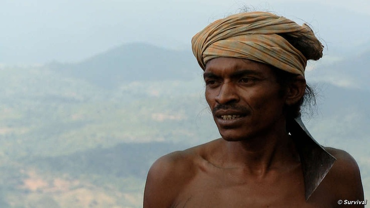 Dongria leader Lodu Sikaka has called for an end to the harassment of village leaders and vowed to defend Niyamgiri. The Dongria Kondh of India's Niyamgiri Hills have fought a heroic battle against mining giant Vedanta Resources to save their sacred mountain.  © Survival