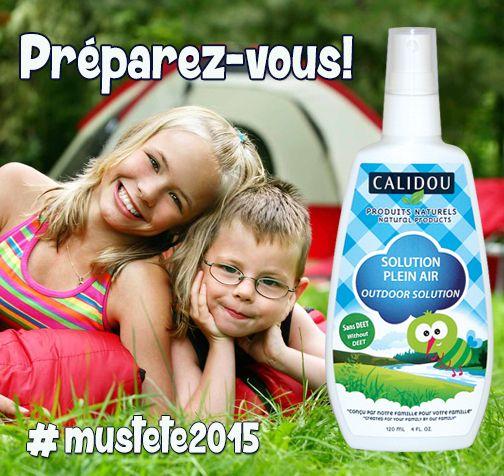 Car la belle saison arrive bientôt! #mustete2015 www.calidou.com