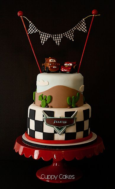 Vroom! Disney Pixar Cars Cake | Flickr - Photo Sharing!