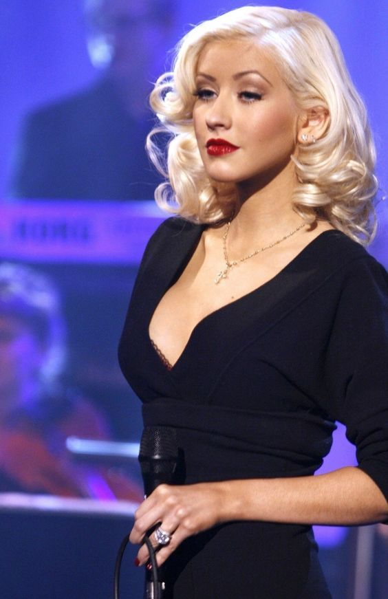 Christina Aguilera. A George Vreeland Hill pin ...
