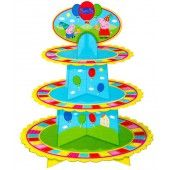 Peppa Pig Cupcake Stand : The Party Cupboard : Online Party Supplies Store Australia