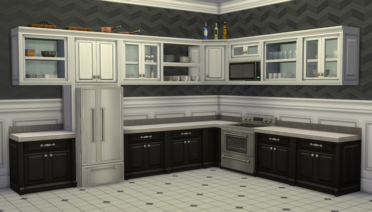 Mod The Sims - S. Cargeaux Cabinets Expansion