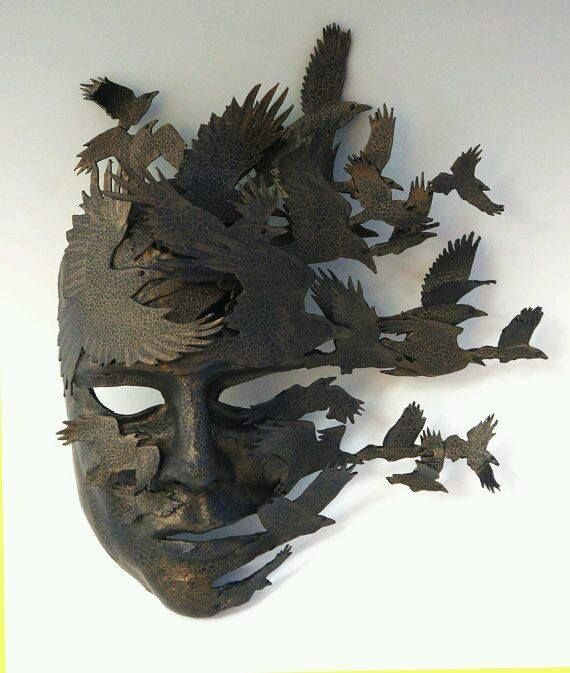 Raven mask by theArtOfMask                                                                                                                                                                                 More