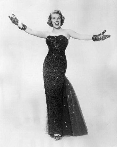 "Rosemary Clooney-  ""Mr. Ritterlocker, what is wrong with you"" B- ""well I know of a doctor"" R- "" tell about him, do."" B- ""sad to say one day he fell, right into a great big well""."