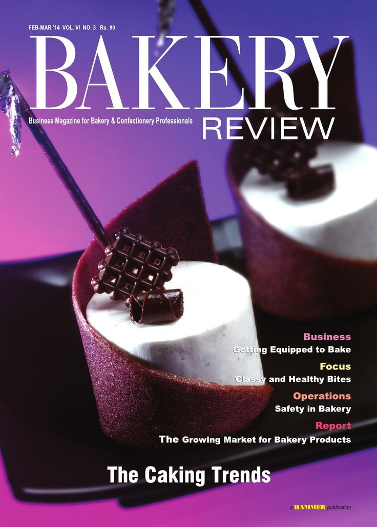 Bakery Review (Feb-Mar 14) Business Magazine for Bakery & Confectionery Professionals  (Please get registered for FREE on issuu.com) In this issue, we have explored the various trends which are taking place in the creation of cakes across India. The Business Story gives account of the utilities of some important equipments, which are integral part of the bakery business, and also briefly probes the market for bakery equipments in the country. The shift towards premiumisation and healthy…