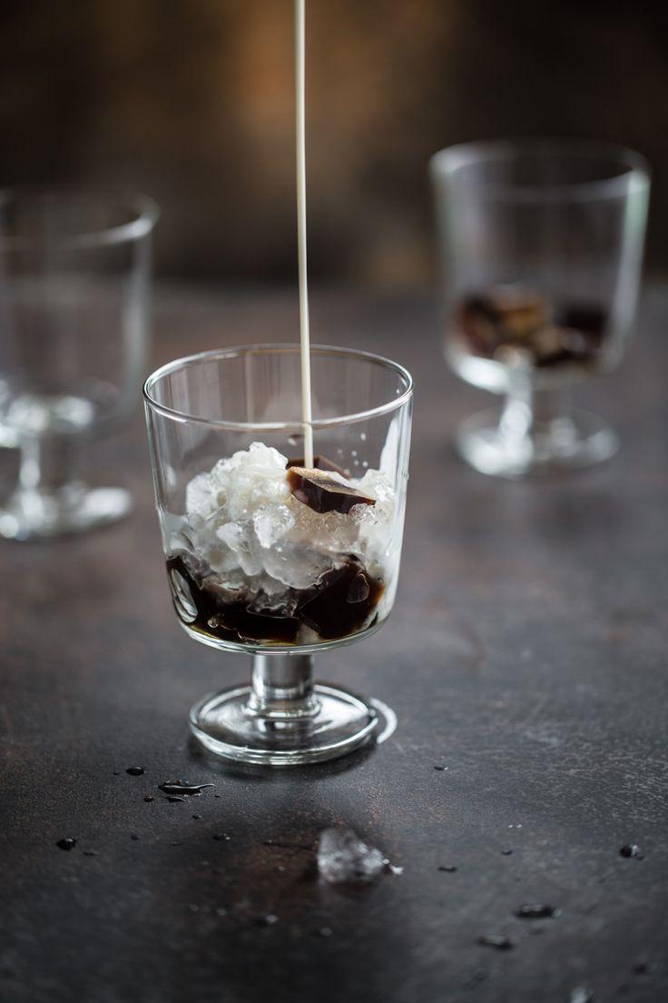 Vietnamesisch Eiskaffee Jelly