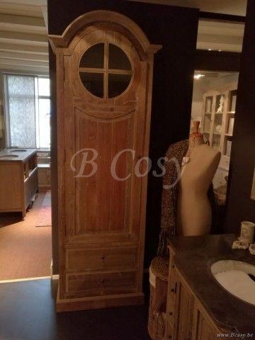 ll-bath-120k-rustieke klokkast voor badkamer in landelijke rustieke cottage stijl