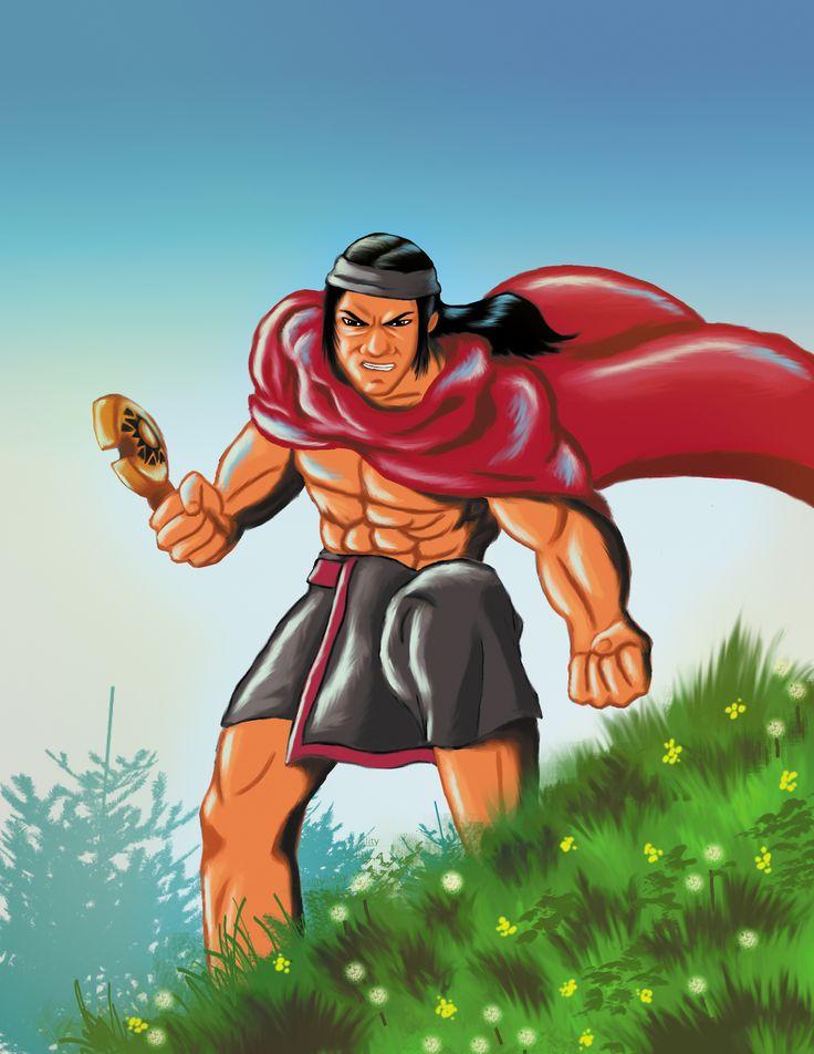 Toqui ( Un titulo que designan los mapuches a sus lideres militares. El término también se usaba para nombrar la cabeza de hacha de piedra que los jefes mapuches usaban como insignia de mando.