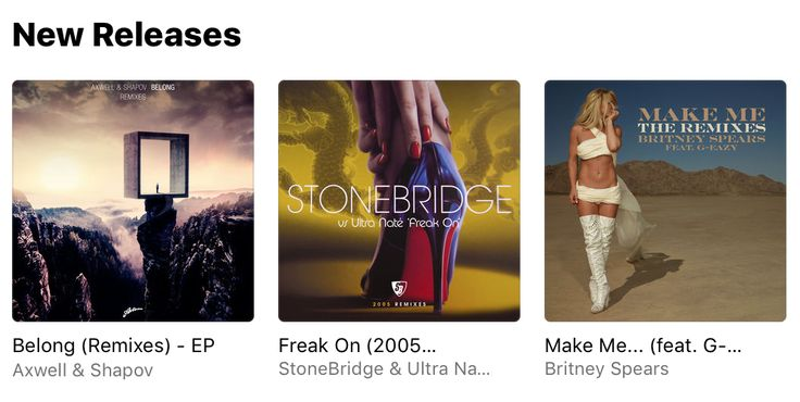 Thank you Apple Music for the Freak On 2005 Remixes feature in New Releases! http://smarturl.it/FO2005RMXAppleMusic