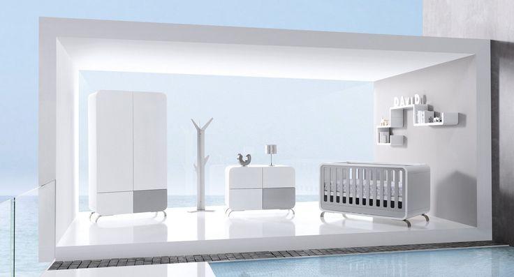Cuna bebé moderna, original y de diseño Kurve Alondra