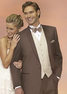 Brown Tuxedos Weddings Styles | Tuxedo Junction of Las Vegas, formal wear and tuxedo rentals in Las ...