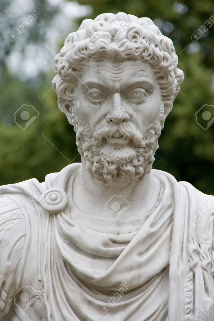 7638653-White-stone-sculpture-of-ancient-Roman-or-Greek-man-with-curly-hair-and-beard-Stock-Photo.jpg (866×1300)
