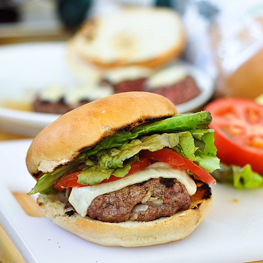 juicy Burgers: Cheeseburgers, Burgers Recipe, Grilled Burgers, Burgers Cooking, 2012 06 11 Burgers12 Jpg, Soy Sauces, Kitchn Grillbeef, Cooking Lessons, Juicy Burgers