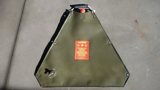 RPU 21 Litre Triangle Fuel Bladder - Suitable for inflatable boats.