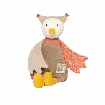 Moulin Roty Biscotte et Pompom Chouquette the Owl $48.00 #sweetcreations #baby #toddlers #kids #softtoys #toys #cuddle