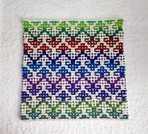 Mosaic Knitting : Best images about mosaic knitting on pinterest