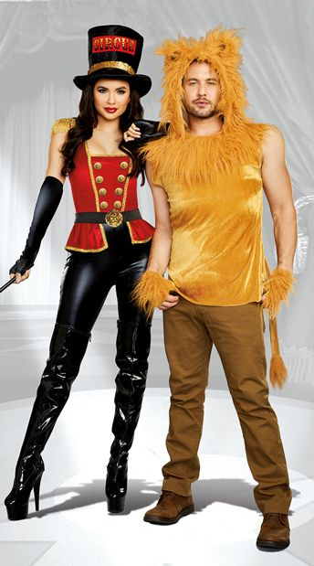 e5a6cd217 Under the Big Top Couples Costume, The Lion Tamer Costume, Sexy Ring Leader  Costume- Yandy.com, Men's King of the Jungle Costume, Men's Lion Costume-  Yandy. ...