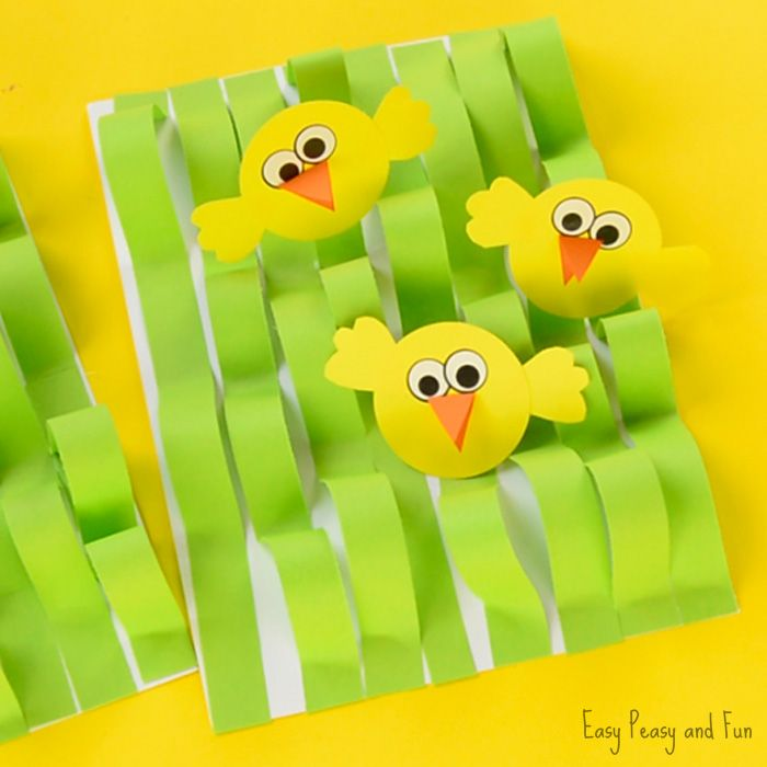 We have another wonderful Easter craft idea (or spring 😉 ) – this time we will be showing you how to make a super easy spring chick paper craft! This craft is great for scissor practice and fine motor skills. You can easily adjust the craft to fit any age group. Chip, chip ready to …