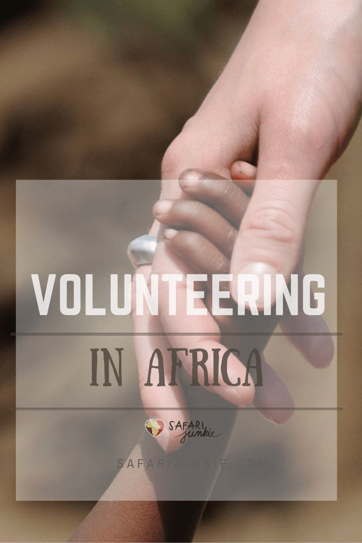 pros and cons of volunteering in africa