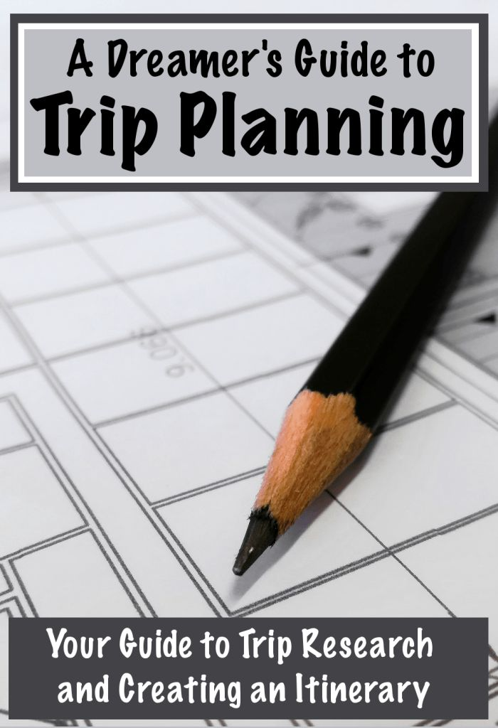 Planning a trip and creating an itinerary doesn't have to be a stressful process! Check out my trip planner to learn what to research about your next travel destination, compare flights, find lodging, build an itinerary, and more! Get a free copy of A Dreamer's Guide to Trip Planning and start planning your next trip today! Don't forget to save this to your travel and trip planning boards! | #travel #planning #itinerary #flights #hotels