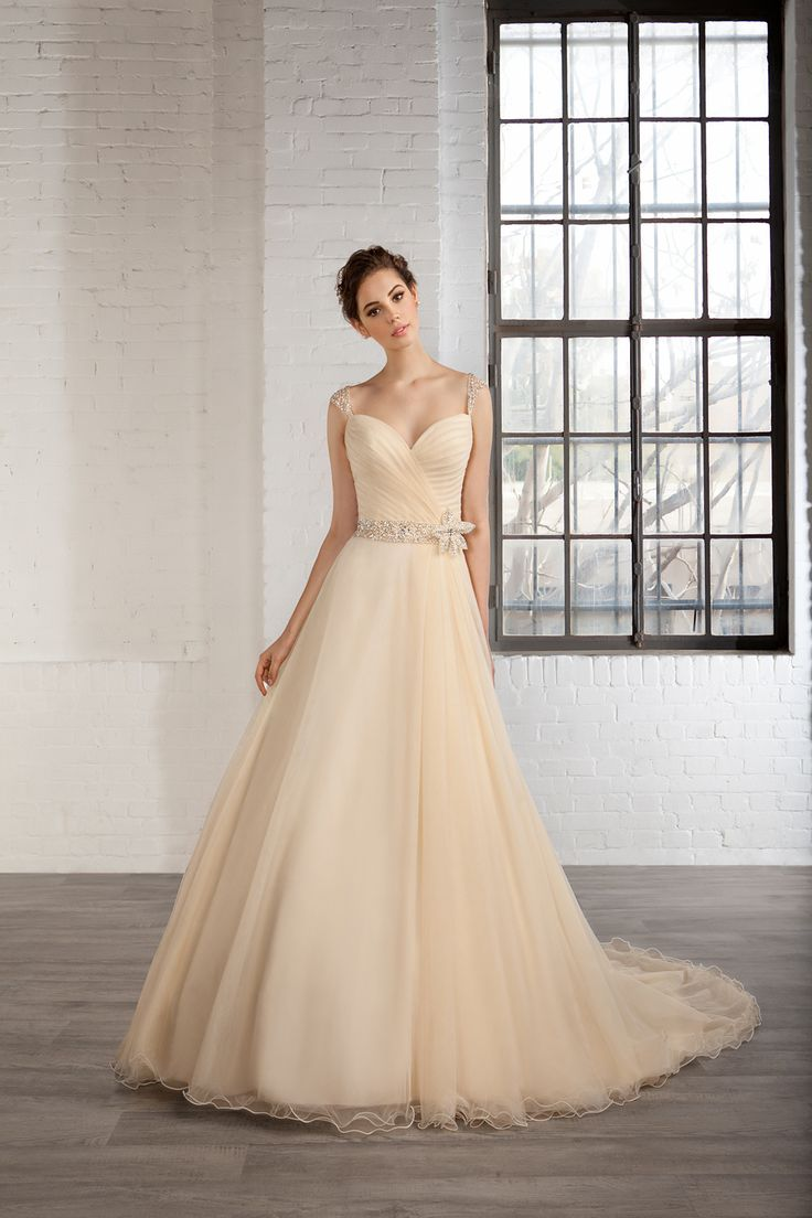 170 best Gold and champagne wedding dresses images on Pinterest