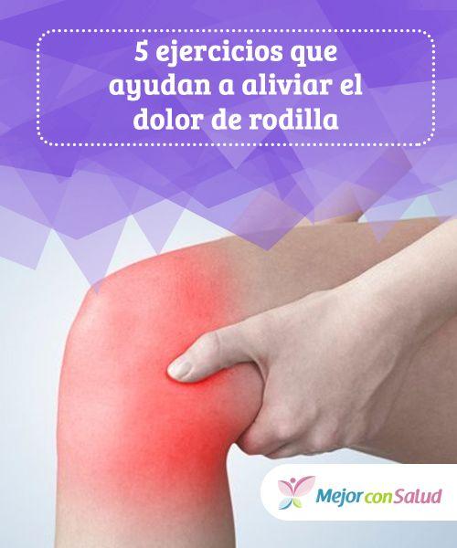 5 #ejercicios que ayudan a aliviar el #dolor de #rodilla  El #sedentarismo y la obesidad pueden ser los principales causantes de sufrir constantemente de dolor en las rodillas. Por ello es fundamental mantenerse activo para evitar problemas #HábitosSaludables