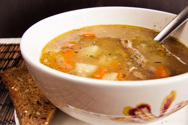 FISH SOUP WITH CANNED TOMATOES and