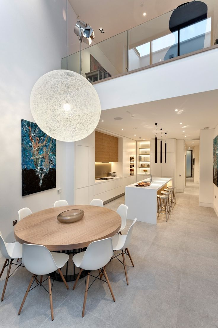 A Narrow 19th Century Building Transformed Into Contemporary London Living - http://www.interiordesign2014.com/architecture/a-narrow-19th-century-building-transformed-into-contemporary-london-living/
